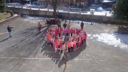 Ден на розовата фланелка!Ден против агресията! - ОУ Христо Ботев - Глогово